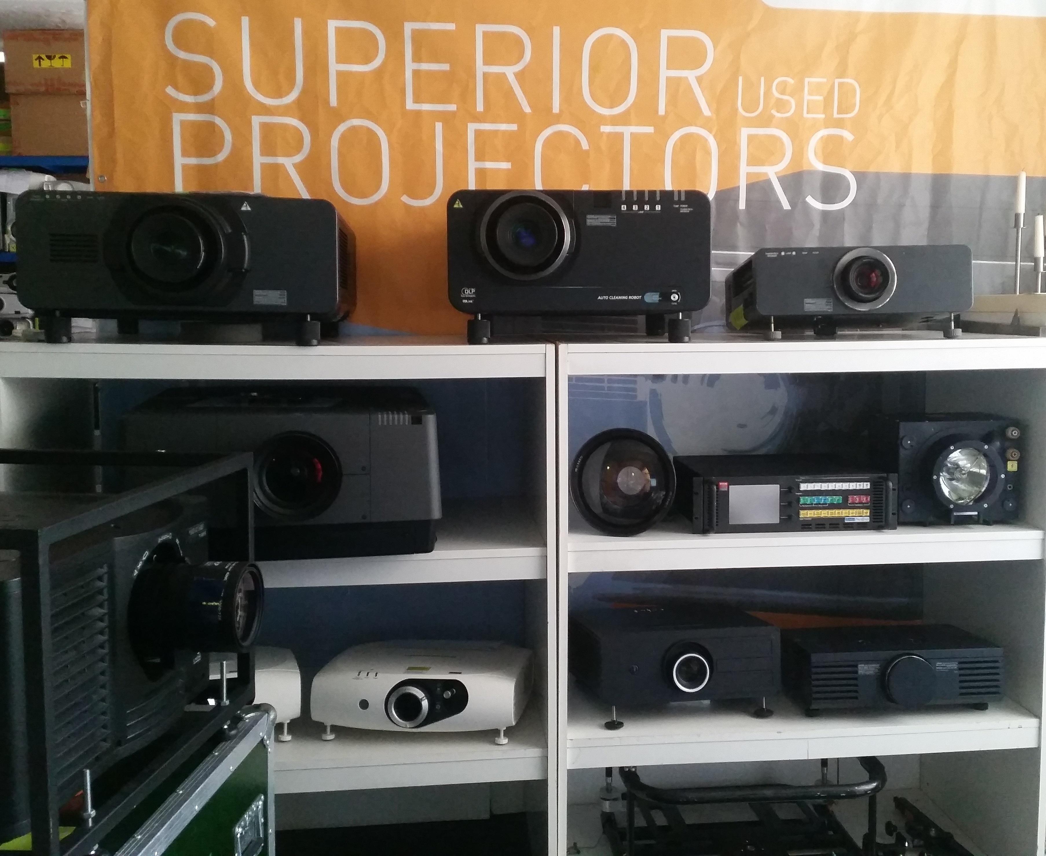 Refurbished Projektoren/ Projektoren in der Müllkippe?