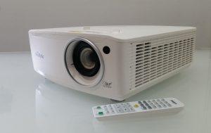 vivitek laser white projector