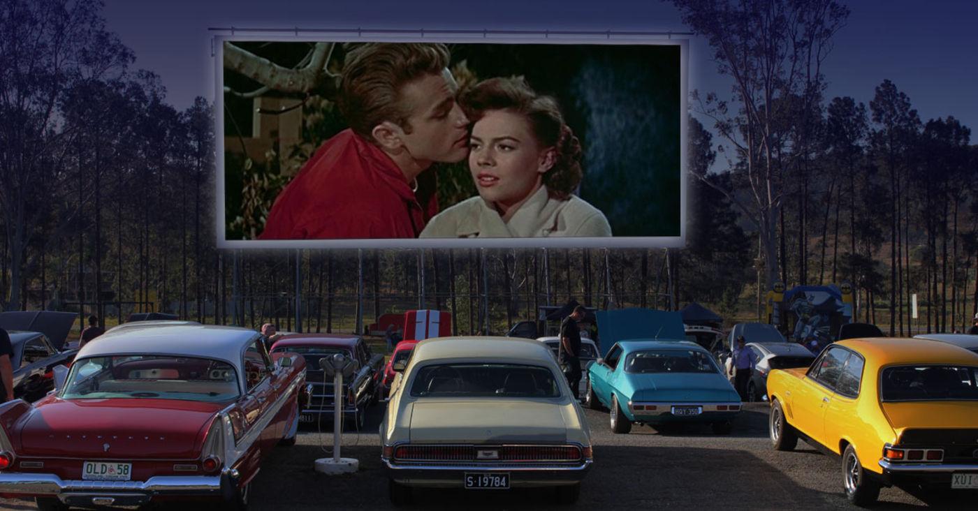 Wie man ein Autokino und Filmtheater einrichtet