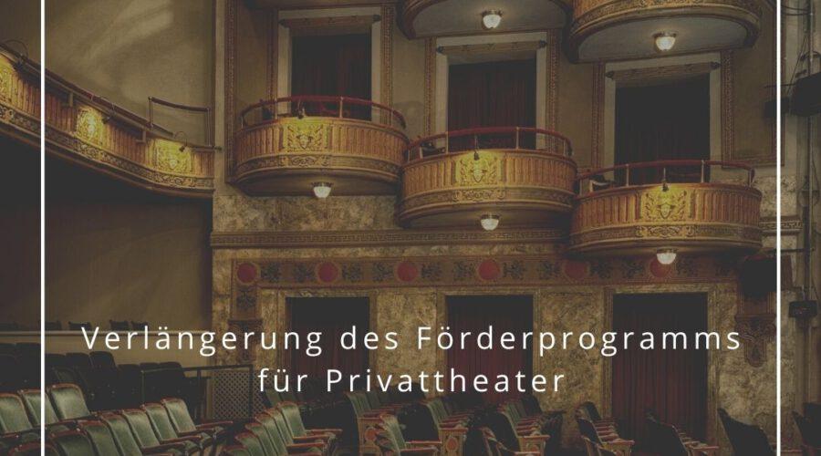 Verlängerung des Förderprogramms Neustart Kultur